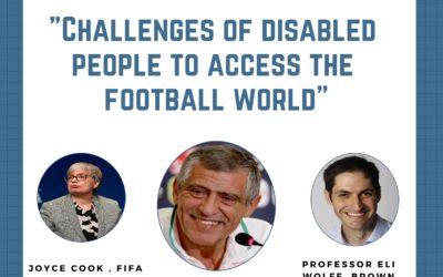 """Futebol para todos – programa de liderança """"Football for all"""""""