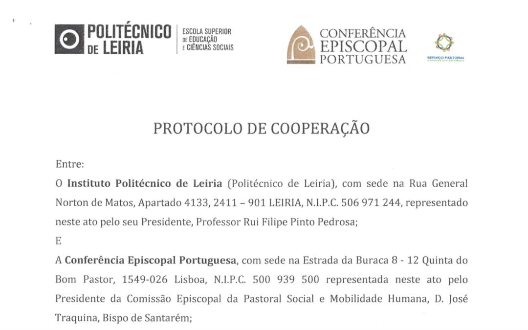 #comunicaçãoparatodos : Protocolo entre IPLeiria e o SPPD