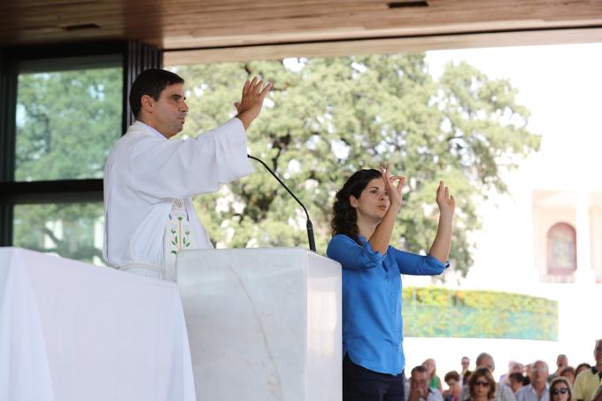 V Peregrinação da Comunidade Surda ao Santuário de Fátima 14 e 15/09/2019