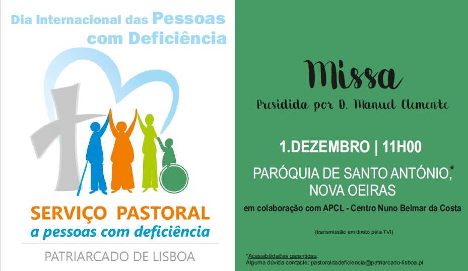 Celebração do DIPD (Patriarcado de Lisboa)
