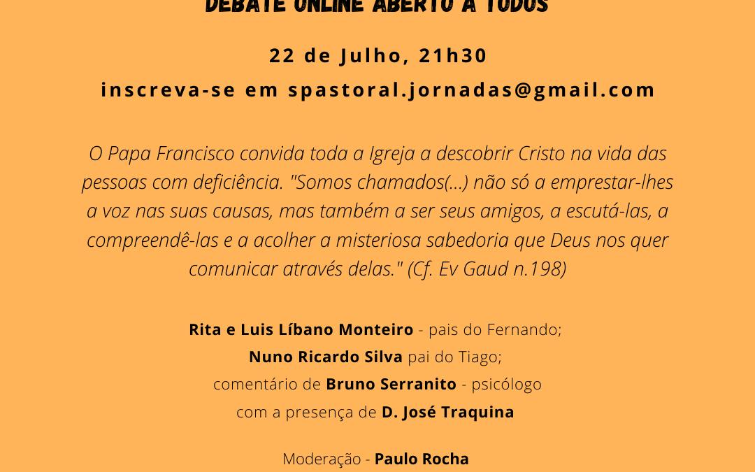"""Debate online: """"Férias 2020 e Pessoas extraordinárias – Como viver este tempo de (des)confinamento?"""" (22/07/2020 – 21h30)"""
